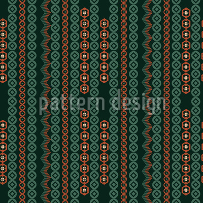 Tribal Perlen Stränge Muster Design