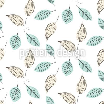 Leichte Blätter Vektor Ornament