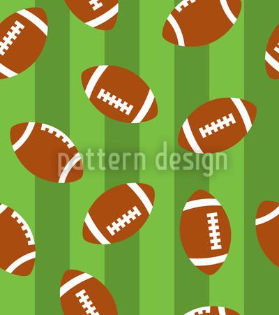 Football Grün Vektor Muster