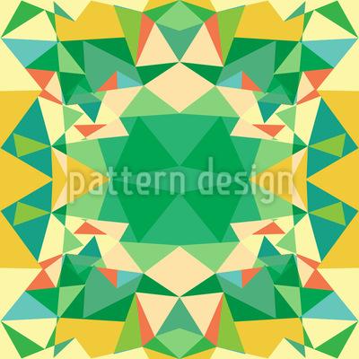 多角形万華鏡 シームレスなベクトルパターン設計
