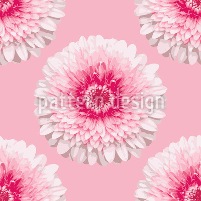 Blumengrüße Muster Design