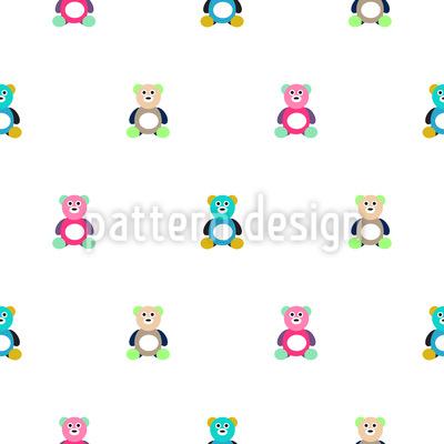 Bären zum kuscheln Nahtloses Muster
