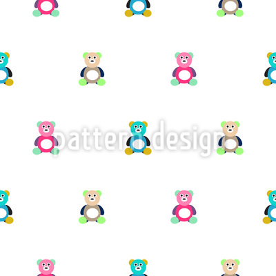 Bears for Cuddle Seamless Pattern