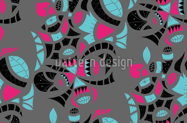 Stammes-Elemente Muster Design