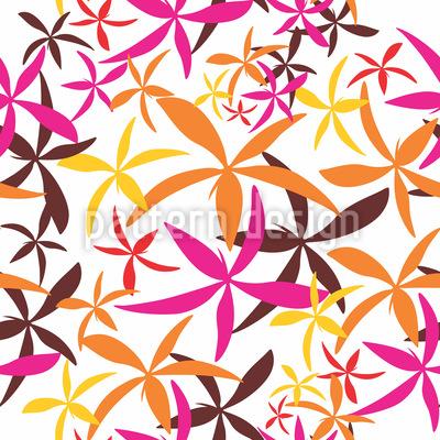 Grafische florale Elemente Rapport