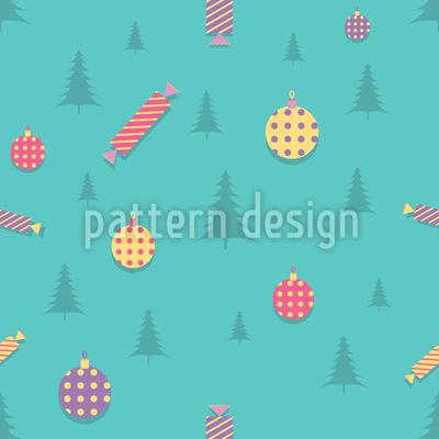 Weihnachtsdekoration Vektor Muster