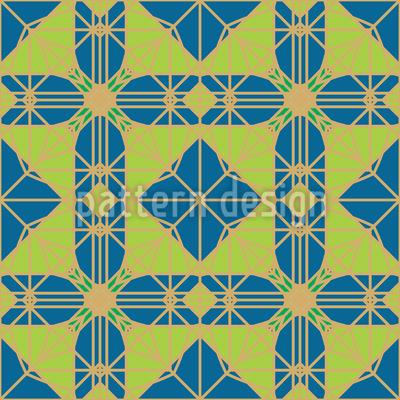 Arabische Geometrielehre Nahtloses Muster