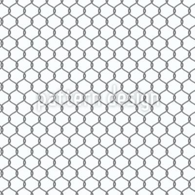 Metall-Ketten Nahtloses Muster