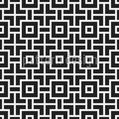 Labyrinth Squares Design Pattern