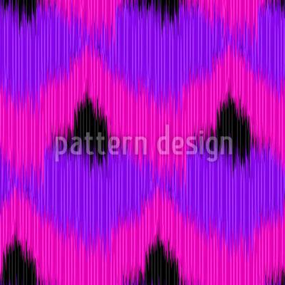 Funky Animal Ikat Design Pattern