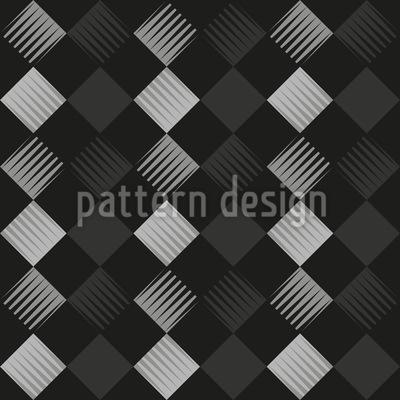 Rauten In Streifen Rapportiertes Design