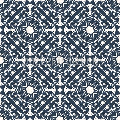 Renaissance Of Nature Seamless Vector Pattern Design