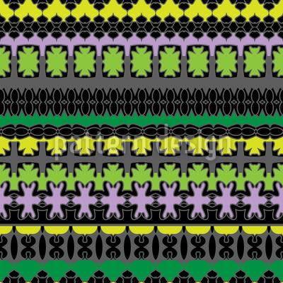 Nicht Einfach Nur Horizontale Streifen Musterdesign