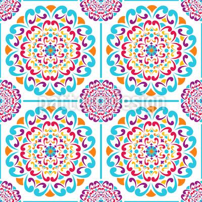 Mandala Fliesen Muster Design