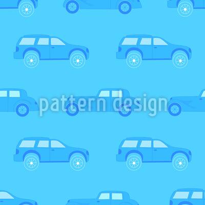 モノクロ交通渋滞 シームレスなベクトルパターン設計