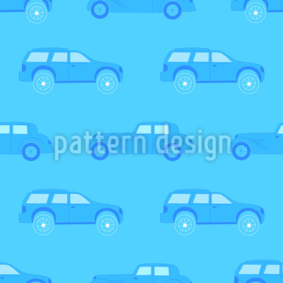 Monochromer Stau Muster Design