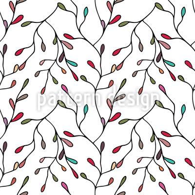 Florale Verästelungen Vektor Ornament