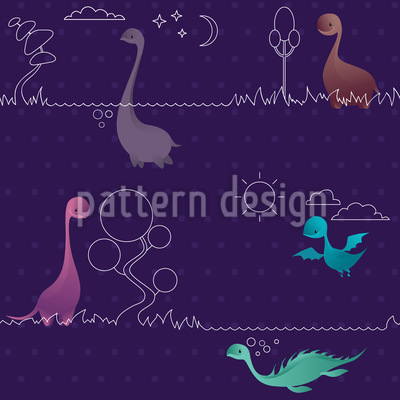 Lovely Dinos Design Pattern