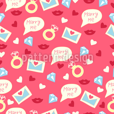 Heirate mich meine Liebe Designmuster