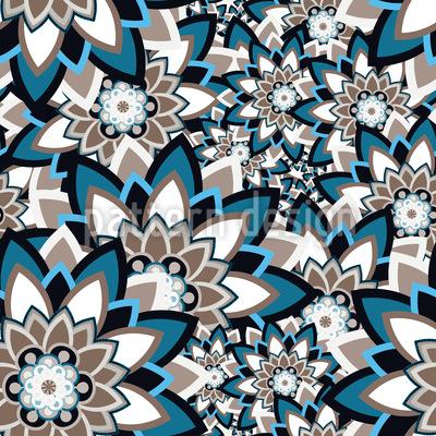 Mandala Schichten Vektor Muster