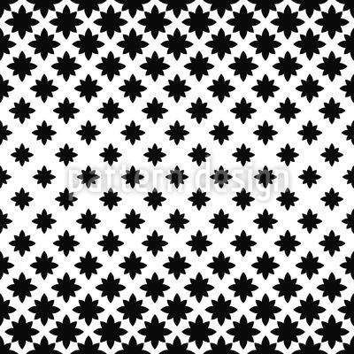 Nacht-Blumen-Illusion Nahtloses Vektormuster