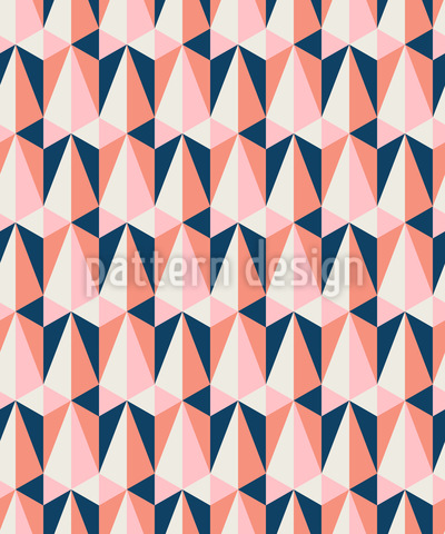Triangular And Retro Seamless Vector Pattern Design