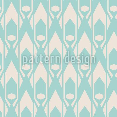 Art Deco Diamanten Nahtloses Vektor Muster
