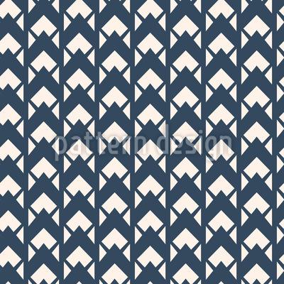 Setas Vintage Design de padrão vetorial sem costura