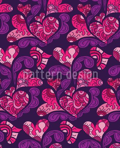Liebesträume Muster Design