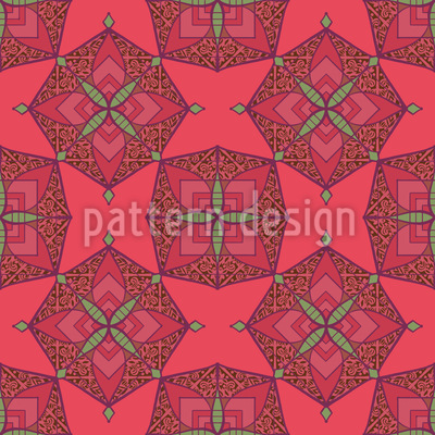 Patchwork Geometrie Musterdesign