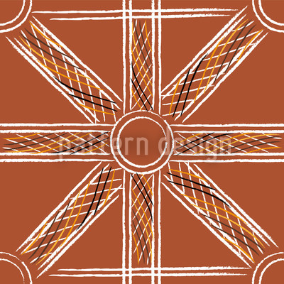 Crossroads Vector Ornament