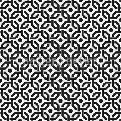 Grade com uma visualização Design de padrão vetorial sem costura
