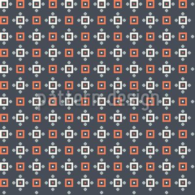 Pixeliger Raster Designmuster