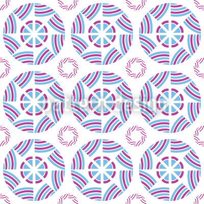 Koreana Seamless Vector Pattern