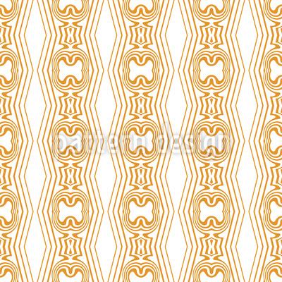 Zarte dekorative Streifen Nahtloses Vektor Muster