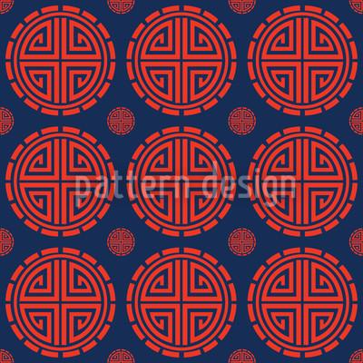 Mister Chans Haus Vektor Muster