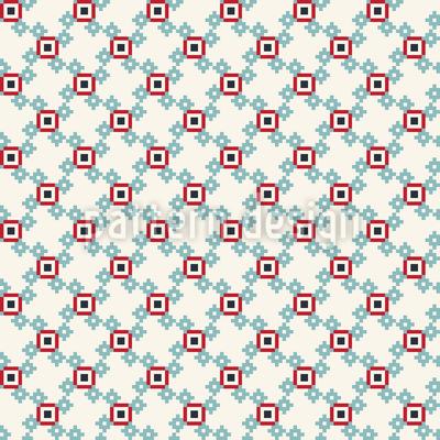 Niedliche Pixel Nahtloses Vektormuster