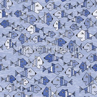 Schwimmende Fische Vektor Design