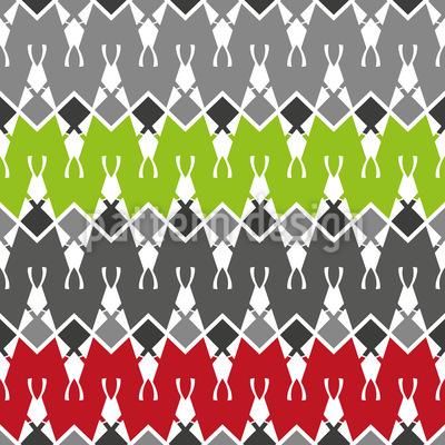 Abstracte Zeltstadt Nahtloses Vektor Muster