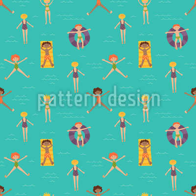 Pure Sommerfreude Muster Design
