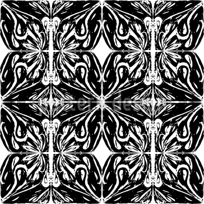 Dunkle Illusion Nahtloses Vektormuster