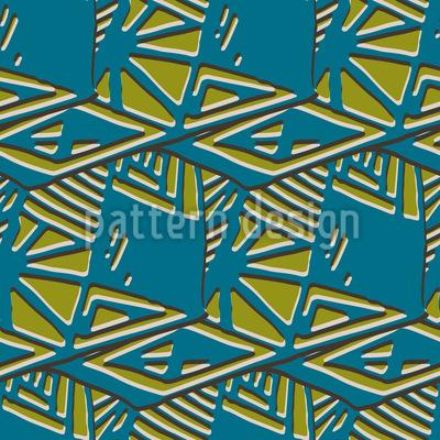 Tropische Geometrie Nahtloses Muster