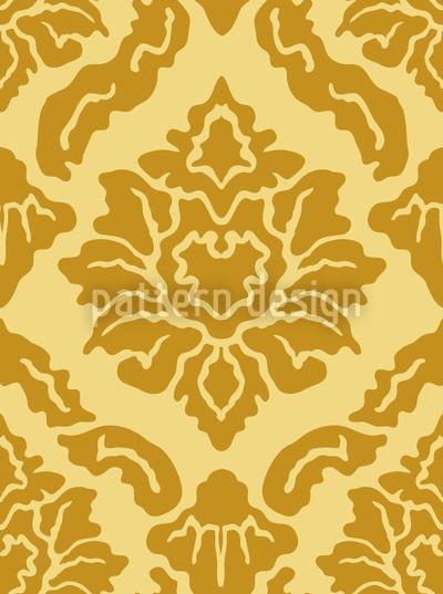 Pop Barock Gold Vektor Muster