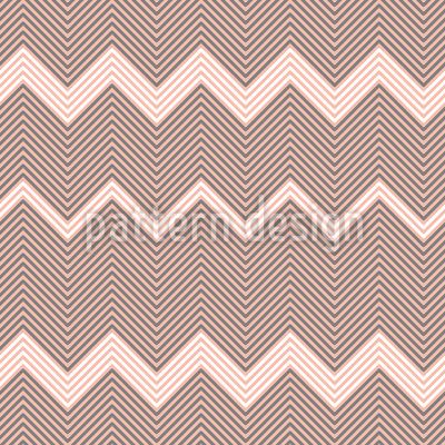 Listras em ziguezague Design de padrão vetorial sem costura