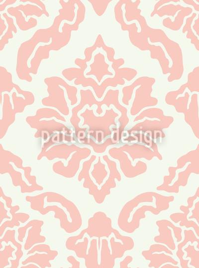 Pop Barock Rosa Rapportiertes Design