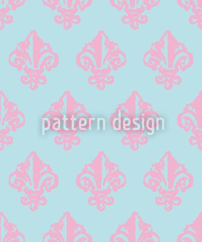 Condessa De Winter Design de padrão vetorial sem costura