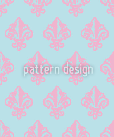 Lady De Winter Rose Pattern Design