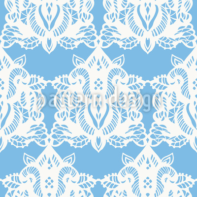 Luxus Spitzen Ornamente Nahtloses Vektor Muster