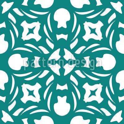クールなゴシック シームレスなベクトルパターン設計