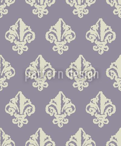Lady De Winter Violett Designmuster